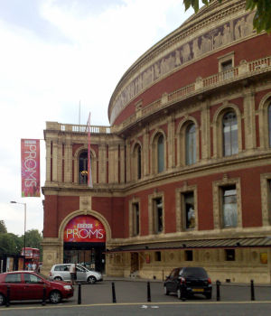 The Royal Albert Hall, outside