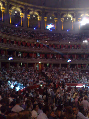 The Royal Albert Hall, inside