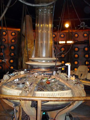 The Doctor Who Experience - The Eccleston/Tennant Console