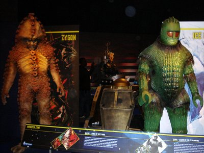 The Doctor Who Experience - Zygon and Ice Warrior