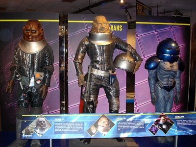 The Doctor Who Experience - Sontarans through the ages