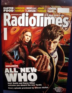 The Doctor Who Experience - Radio Times Cover