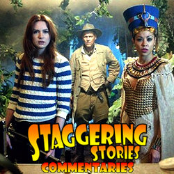 Staggering Stories Commentary: Doctor Who - Dinosaurs on a Spaceship