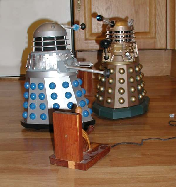 Dalek Vs. Dalek Sprint Altercation
