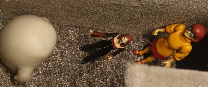 Chief Inspector Grey-um #1 - Grey-um and Dinkley trapping Vampire Willow.
