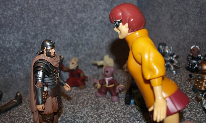 Chief Inspector Grey-um #1 - Velma and Randy talking.