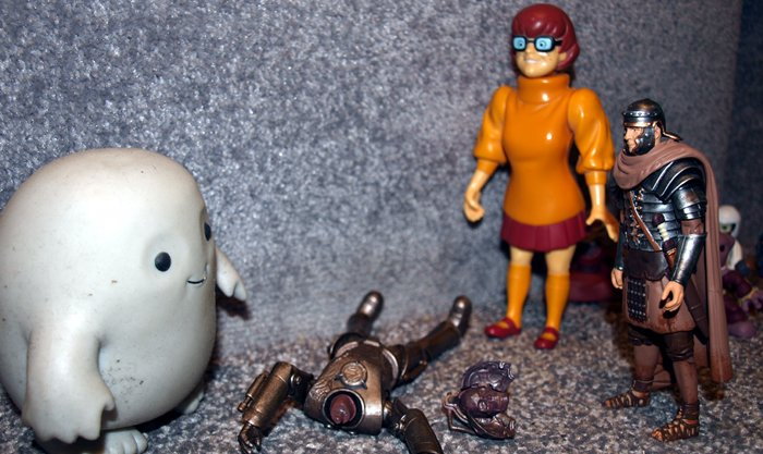Chief Inspector Grey-um #1 - Grey-um, Randy and Dinkley.