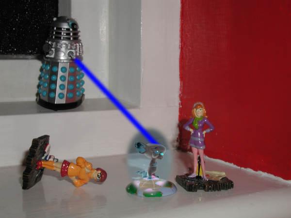 Exterminate Dalek Song mr Dalek Exterminates The