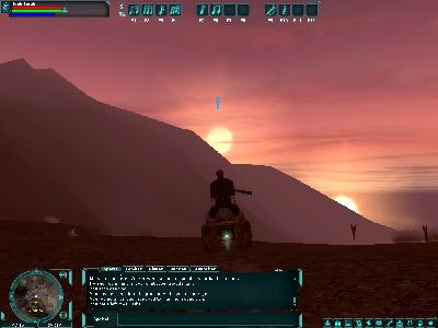 Star Wars Galaxies: Speeder binary sunset