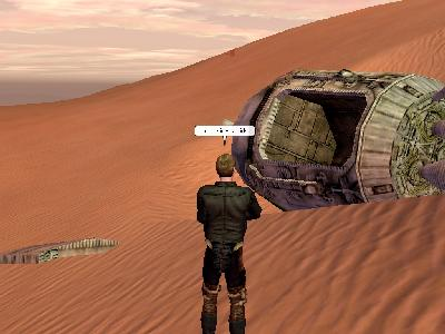 Star Wars Galaxies: Look, sir - Droids!